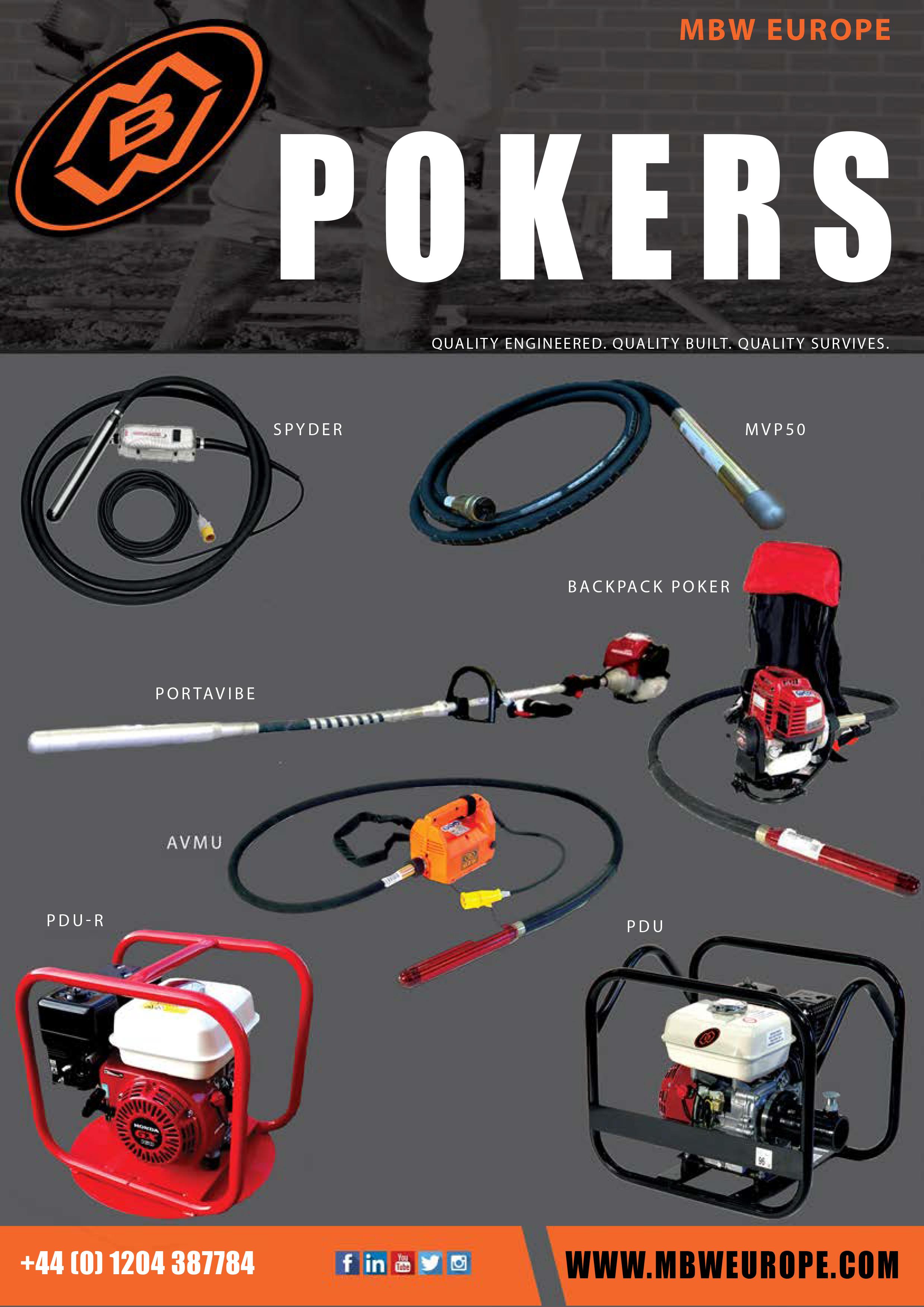 Spyder High Frequency Poker